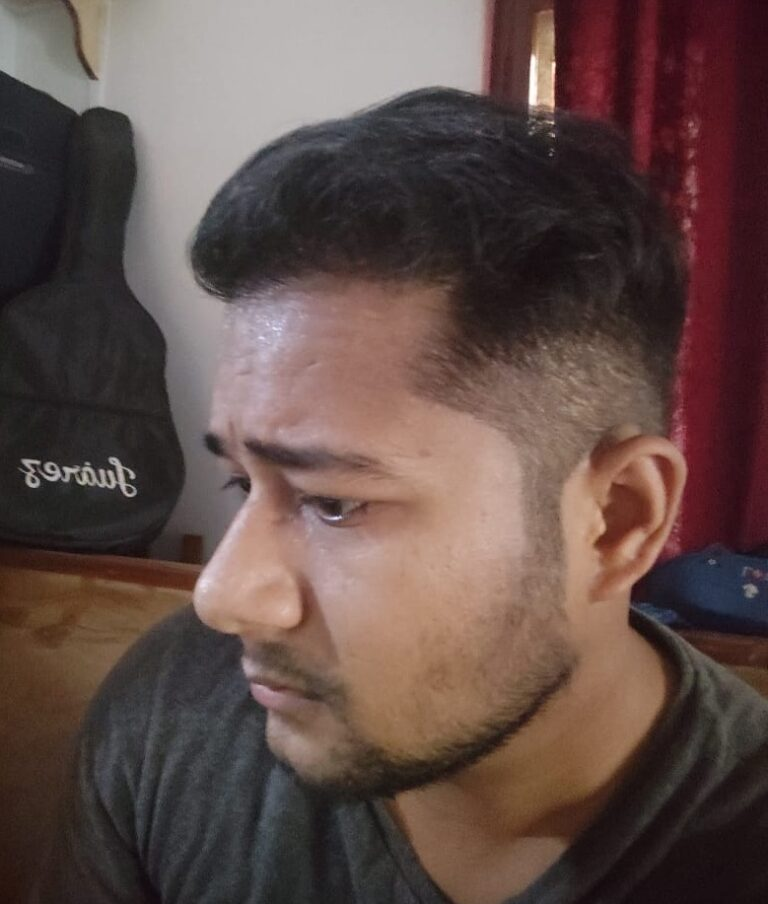 This Chandigarh Boy Loves Flaunting His Heavenly Hair.